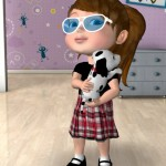 Little Girls Will Love Playing Talking Anya and Her Pet Puppies App