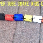 Toilet Paper Tube Snake Kids Craft (Learn & Link WITH LINKY)