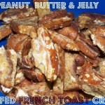 Peanut Butter & Jelly Stuffed French Toast Crust