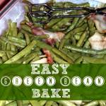 Easy Green Bean Bake Recipe