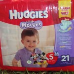 Huggies Little Movers Keeping Baby Dry While Moving (Target Sweepstakes) #MC #MovingMoments