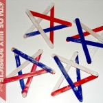 4th of July Popsicle Stick Stars (Learn & Link With Linky)