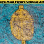 Crinkle Art Painting Craft (Learn & Link With Linky)