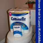 Bathroom Break in Luxury (With Cottonelle) + Coupon #LetsTalkBums