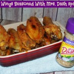 Hot Wings Seasoned With Mrs. Dash / Recipe Challenge