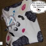 DIY Chick-Fil-A Cow Appreciation Day Costume #CowAppreciationDay
