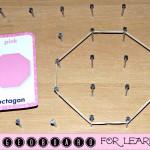 DIY Geoboard – Fun Inexpensive Way To Teach Kids Math (Learn & Link)