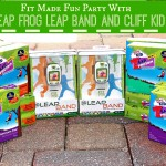 Fit Made Fun With Leap Frog Leap Band & Clif Kid ZBar #FitMadeFun