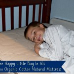 Healthy Sleeping On The Pure Echo Organic Cotton Natural Mattress (Giveaway)