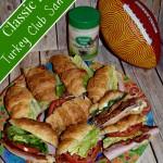 Classic Ranch Turkey Club Sandwich #NaturallyFresh (Recipe)