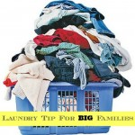 Laundry Tip For Big Families