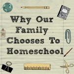 Why Our Family Chooses To Homeschool