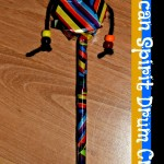 African Spirit Drum Craft  (Homeschool Geography Lesson) Learn & Link With Linky