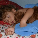 Cuddle Time With Bear (Almost) Wordless Wednesday With Linky