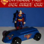 Superman Pine Box Derby (Learn & Link With Linky)