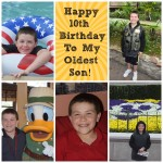 Now Double Digits! (Almost) Wordless Wednesday With Linky