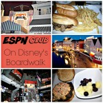 The Place To Eat For All Sports Fans, The ESPN Club #WDWBigFun