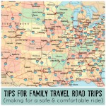 Tips For Family Travel Road Trips (Making For A Safe & Comfy Ride)