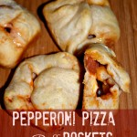 Pepperoni Pizza Puff Pockets #PizzaGoodness