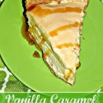 Vanilla Caramel Ice Cream Pie