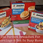 Jimmy Dean Breakfasts Are A Great Way To Start The Day! #JDGreatStart