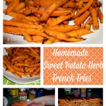 Homemade Sweet Potato Herb French Fries