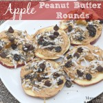 Apple Peanut Butter Rounds