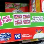 Hefty Support Of Box Tops #SaidNoSchoolEver
