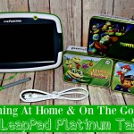 Learning At Home & On The Go With The LeapPad Platinum Tablet