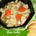 Slow Cooker Chicken Noodle Soup #ComfortFood