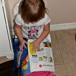 Learning To Potty Train & Read All At Once (Almost) Wordless Wednesday With Linky