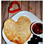 Heart Shaped Cheese Quesadilla #ValentinesDay