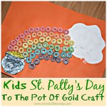 Kids St. Patty's Day To The Pot Of Gold Craft