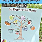 DIY Fruit of the Spirit Poster #KidsCraft