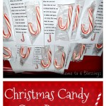 Christmas Candy Cane Poem