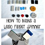 How My Son Made His Lego Fidget Spinner #Lego