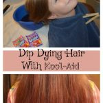 Dip Dying Hair With Kool-Aid