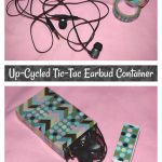 Up-Cycled Tic-Tac Earbud Container