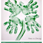 Shamrock Handprints – Kid's Crafts