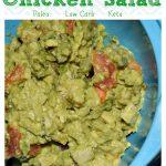 Avocado Chicken Salad #Paleo