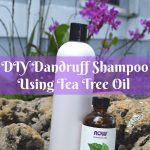 DIY Dandruff Shampoo Using Tea Tree Oil