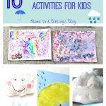 14 Rain Related Crafts & Activities For Kids