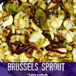 """Brussels Sprout """"Chips"""" (Paleo / Keto / Low Carb)"""